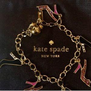 Kate Spade Shoe Charm Bracelet